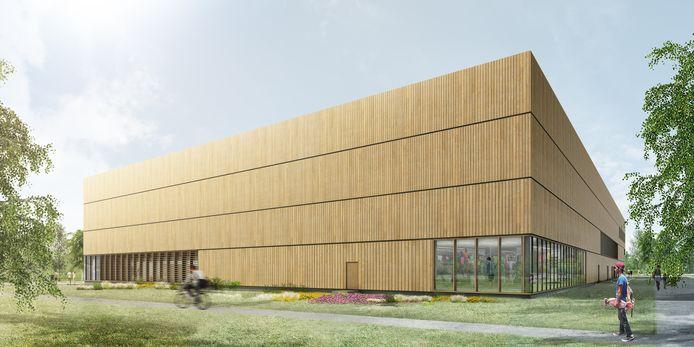 De werken aan Sportoase Groot Schijn zijn van start gegaan. In het najaar 2021 moet alles klaar zijn.