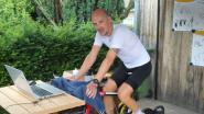 Joris (42) fietst 12 uur voor Kom Op Tegen Kanker als eerbetoon voor overleden vader