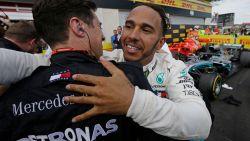 Lewis Hamilton weer op kop in WK na zege in GP van Frankrijk, Vandoorne twaalfde