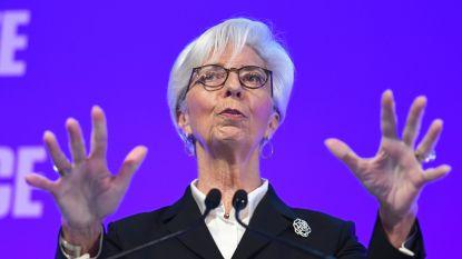 ECB-baas Christine Lagarde waarschuwt voor nieuwe financiële crisis