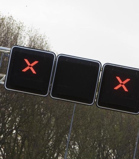 Oprit Ekkersrijt van de A50 donderdagavond en -nacht afgesloten