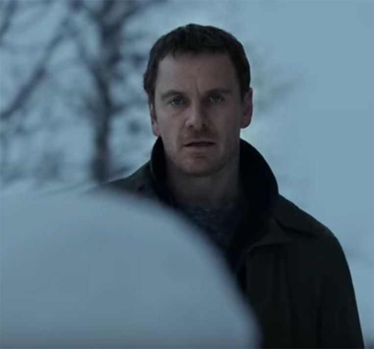 Michael Fassbender in 'The Snowman'