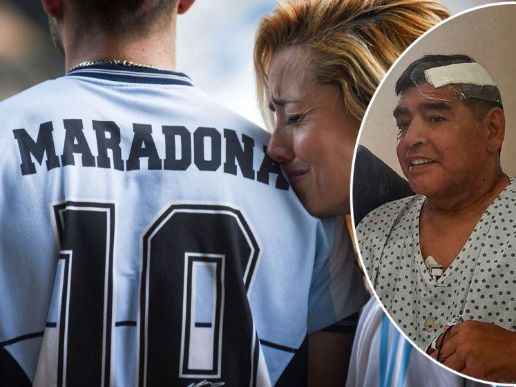 """RECONSTRUCTIE. De laatste dagen van Diego Maradona: """"Hij was angstig, depressief en overstuur"""""""
