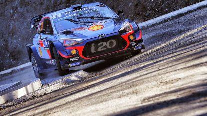 Neuville tweede na eerste dag Rally van Corsica, opgave Loeb na crash