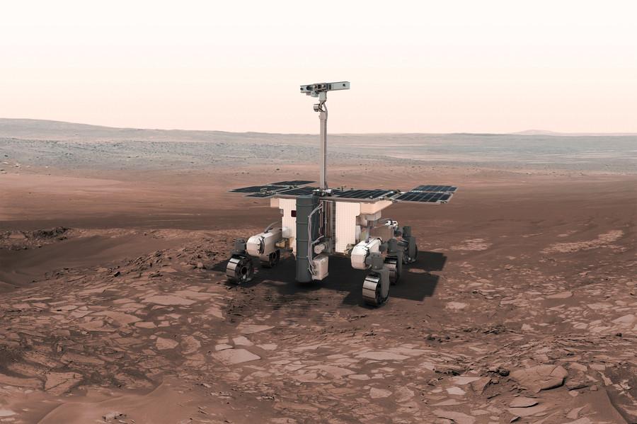 De ExoMars rover.
