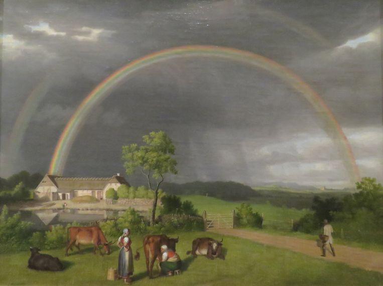 Regenbogen door Christoffer Wilhelm Eckersberg. Beeld Koos Dijksterhuis