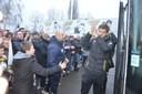 Bij de laatste uitwedstrijd tegen Roeselare in februari staken de Sportingfans de spelers nog een hart onder de riem.
