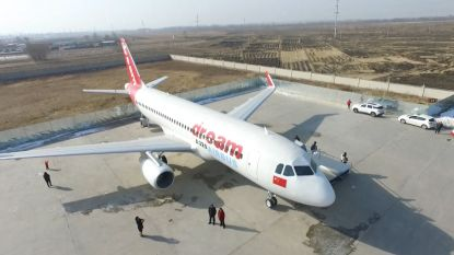 VIDEO. Chinees bouwt Airbus A320 na op ware grootte
