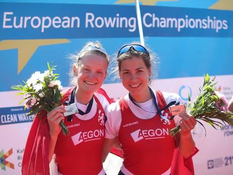 Nederlandse roeiers op EK goed voor zes medailles