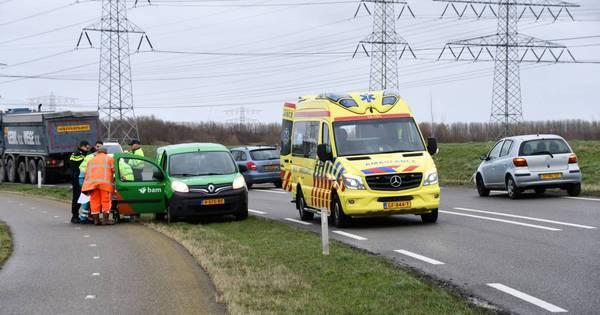 Motorrijder gewond bij eenzijdig ongeluk Ritthem.