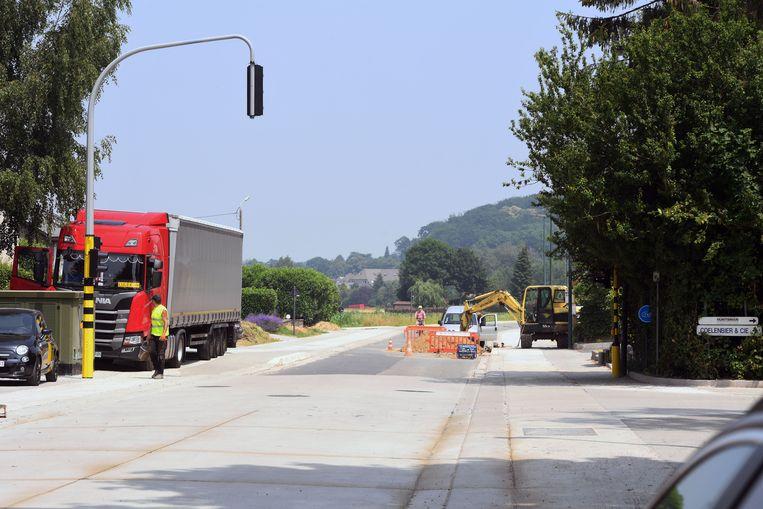 Volgende week woensdag worden de werken aan de Sterrebeeksesteenweg na 15 maanden afgerond
