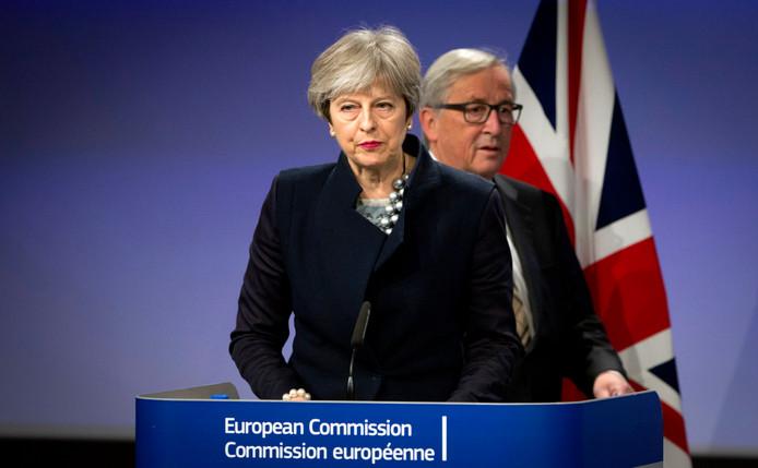 Avec le président de la Commission européenne Jean-Claude Juncker.
