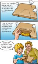 De nieuwe pizzadoos