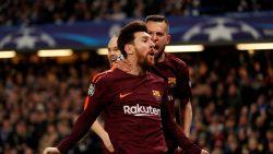 HERBELEEF hoe Messi met zijn allereerste goal tegen Chelsea Barça goede uitgangspositie bezorgde