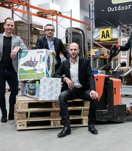 Zevenaar krijgt megavestiging voor opslag trampolines en ander speelgoed van Exit Toys