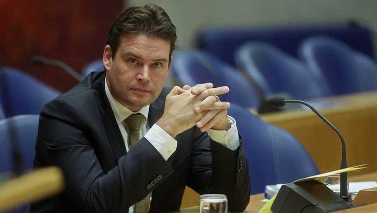 Staatssecretaris Frans Weekers (Financiën). Beeld null
