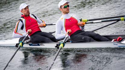 Brys en Van Zandweghe pakken hun eerste EK-medaille in het roeien