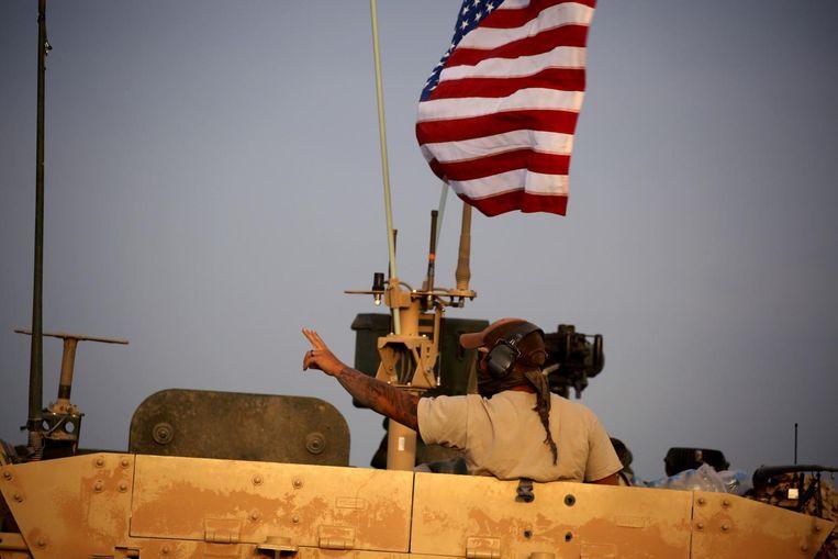 De YPG en Amerikaanse steun in Syrië Beeld null