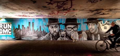 Oude hiphophelden geëerd op een Wijchense muur