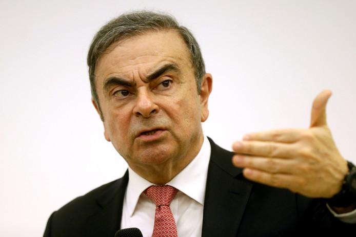 Carlos Ghosn, l'ancien patron de Renault.