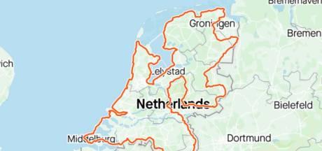 Daan (28) uit Valkenswaard fietst in dik 80 uur heel Nederland rond: 'Nee, niet helemaal gezond'