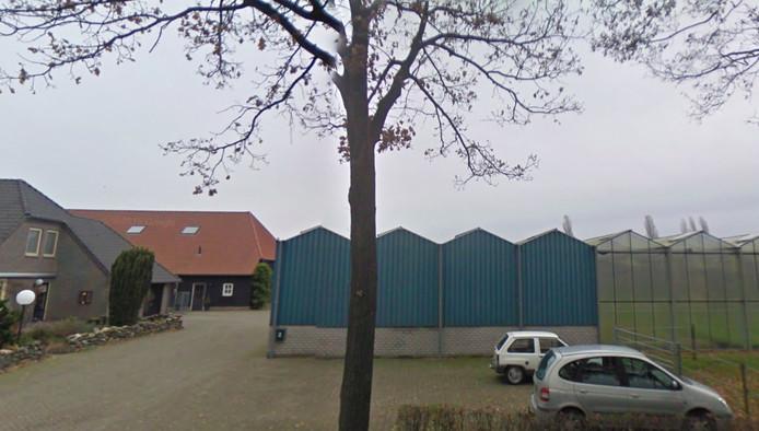 De locatie van Van Santvoort aan de Hollestraat 3 in Someren