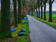 74 zakken hennepafval gevonden in Nuenen