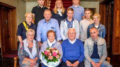 Gilbert en Maria viering hun 60-jarig jubileum