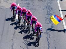 EF is Quick-Step te snel af in ploegentijdrit Ronde van Colombia