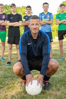 Bij elk trainingspotje wil Iwan Geense (39) winnen