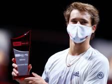 Alexander Zverev décroche son premier titre en 2020 à Cologne