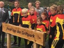 Bord bij nieuw park Breukelen al na een dag door vandalen weggehaald