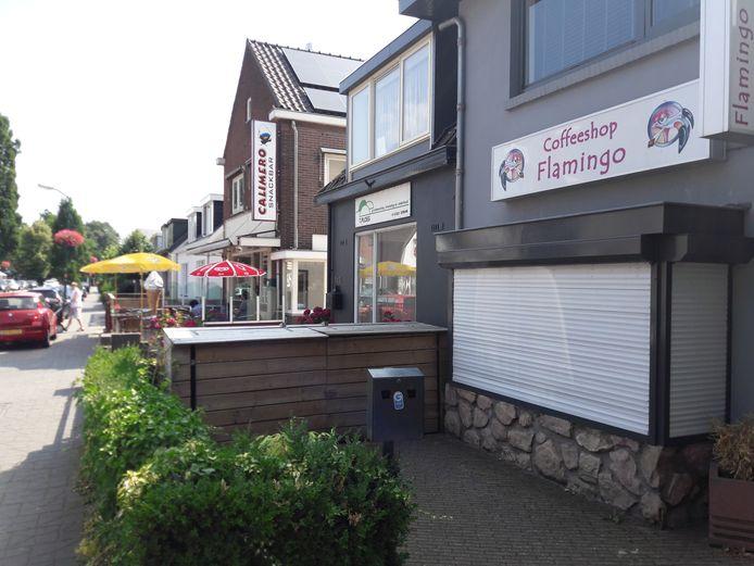 De coffeeshop Flamingo in Driebergen mag weer open.