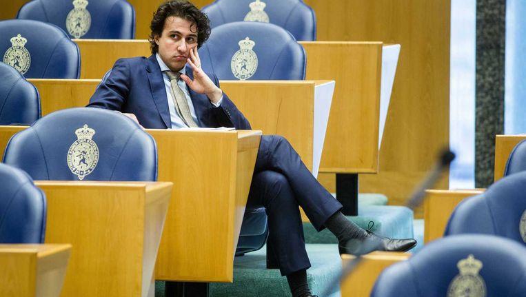 Jesse Klaver, de nieuwe fractievoorzitter van GroenLinks. Beeld anp