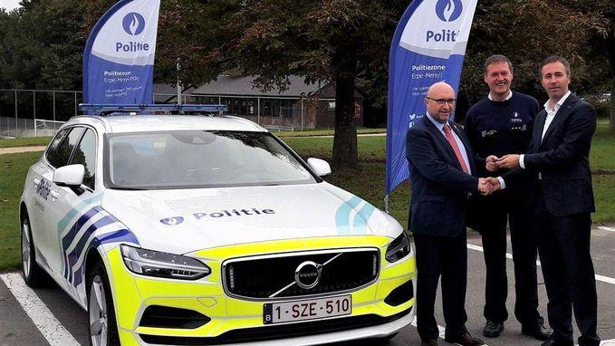 Nieuwe wagens voor politie