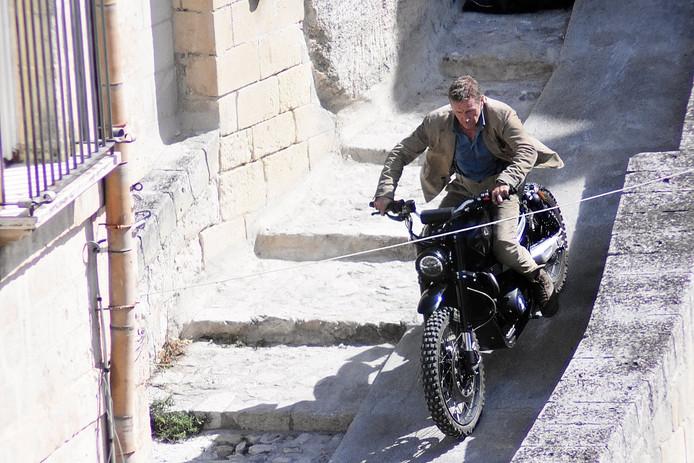 Le tournage du prochain James Bond.