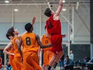 Kobe Abelshausen combineerde lang atletiek en basket, maar kiest nu voluit voor de jeugd van Antwerp Giants