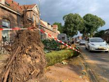 Dag na de storm is de schade in Nijmegen pas goed te zien: brandweer krijgt 188 meldingen binnen