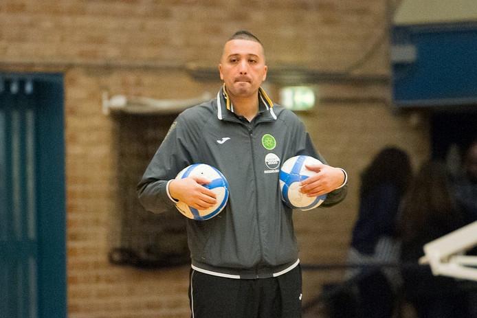 Groene Ster-coach Hicham Benhammou zag zijn ploeg een punt pakken tegen angstgegner ZVV Eindhoven.