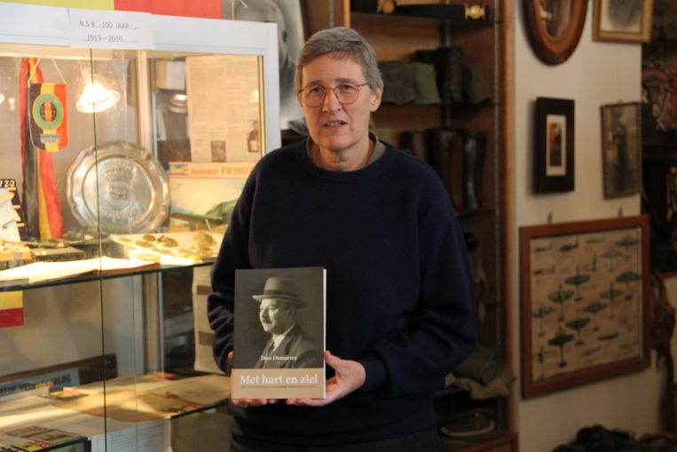 Heemkundige Inez Demarrez schreef het boek rond het leven van Joseph Versavel.