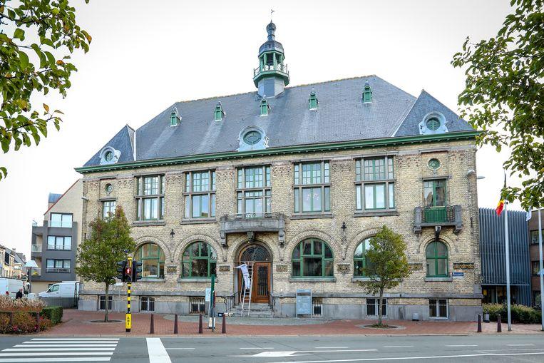 Het gemeentehuis van Middelkerke