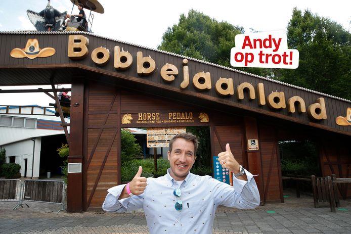 Andy Peelman in Bobbejaanland