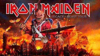 Iron Maiden wordt headliner op 25ste editie van Graspop