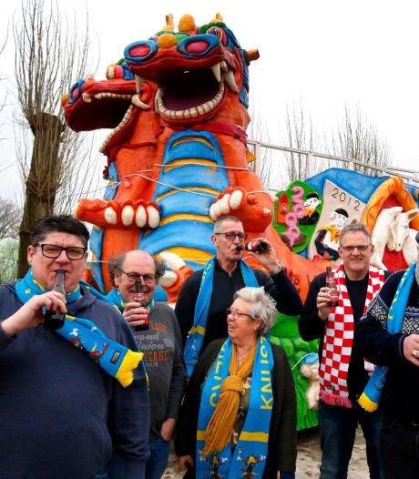 De Knusterooiers zijn klaar voor carnaval in Hank
