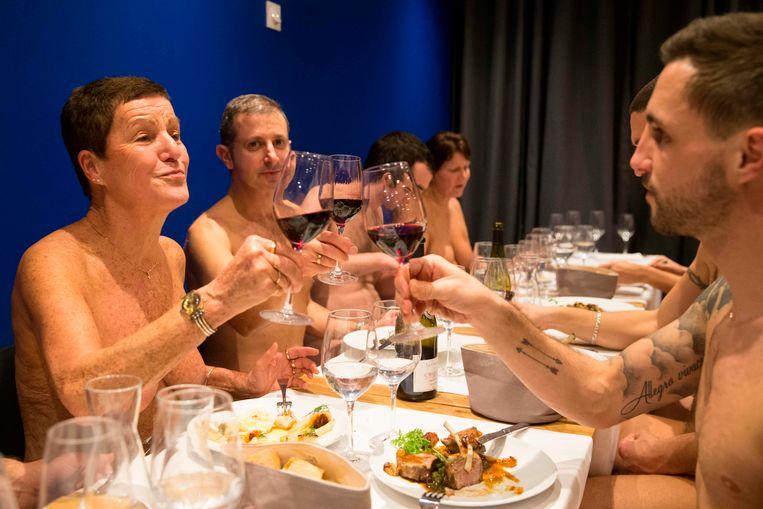Te weinig klanten: enig naaktrestaurant van Parijs sluit na jaar de deuren