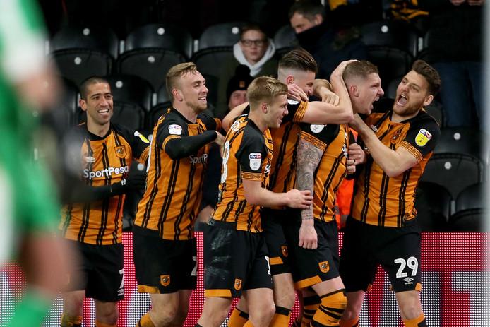 Jordy de Wijs scoorde woensdag in extremis voor Hull City, dat nog mag dromen van een ticket voor de play-offs voor de Premier League.