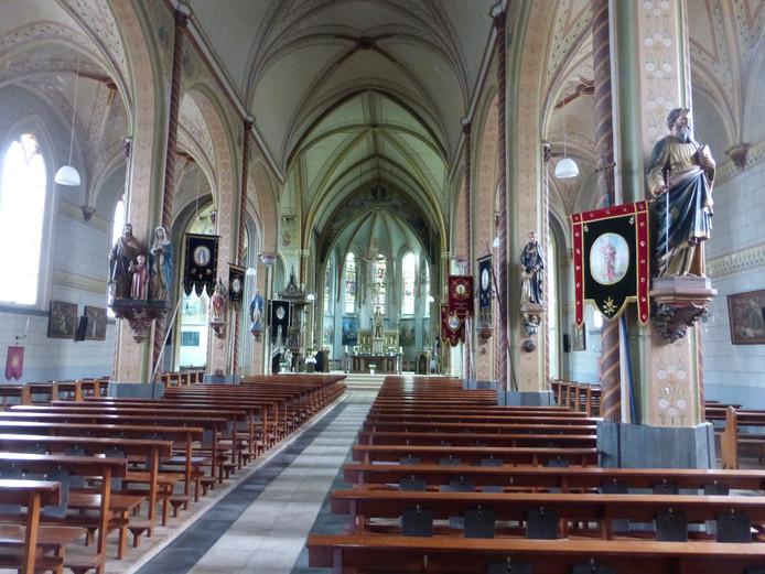 De rooms-katholieke kerk in Graauw.