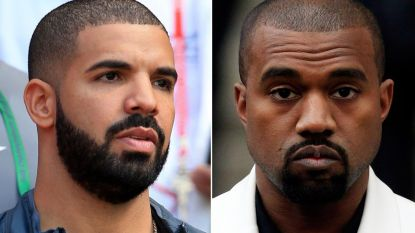 """Kanye West over ruzie met Drake: """"Ik mag zijn naam niet vermelden"""""""