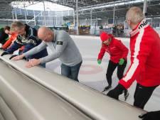 Lions Club schaatsen voor het goed doel in Breda