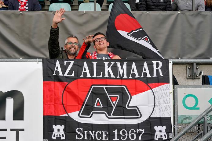 Bij AZ houden de supporters er in ieder geval de moed in.